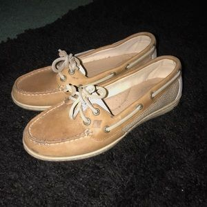 Sperrys! Only worn once!